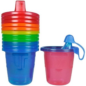 The First Years Take & Toss Spill-Proof Sippy Cups - Multicolor - 7 oz - 6 ct by The First Years