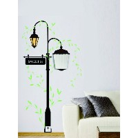 Dream Wall Decal, Sweet Street Lamps by wall dream