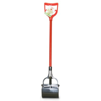 IMS Cadet Pooper Scooper with Red Handle by IMS