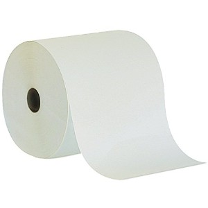 High-Capacity Nonperforated Paper Towel, 7-7/8 x 800', White, 6/Carton (並行輸入品)