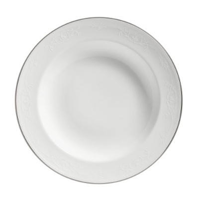 Wedgwood English Lace 9-Inch Rim Soup Plate by Wedgwood