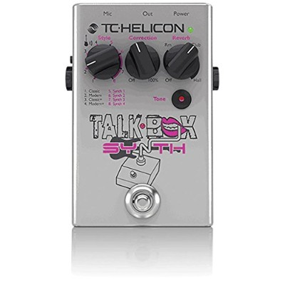 TC-HELICON Talkbox Synth ボーカルエフェクター