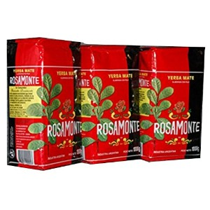 Yerba Mate Rosamonte 3 KG Argentina Green Tea Loose Leaf Bag Herbal 6.6 lb Fresh by Rosamonte