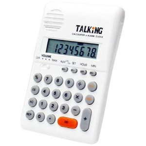 Talking Pocket Calculator by The Braille Superstore