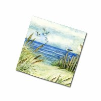 Keller-Charles By the Sea Cocktail Napkins by Keller Charles