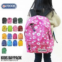 OUTDOOR PRODUCTS アウトドアプロダクツ 12439289 キッズ チアフルデイパック バックパック リュック KIDS DAYPACK【メール便不可・キッズ】02P03Dec16
