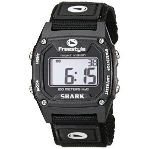 フリースタイル Freestyle Unisex 779011 Shark Classic Black Nylon Strap Watch [並行輸入品]
