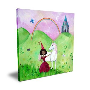 Cici Art Factory Princess, 16x 16 by Cici Art Factory