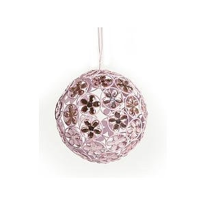 Little Boutique Pink Sparkling Ball Chandelier by Littleboutique