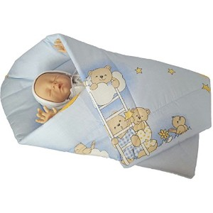 BlueberryShop PLAYMAT Swaddle Wrap, Blanket, duvet, Sleeping Bag for newborn baby shower GIFT...