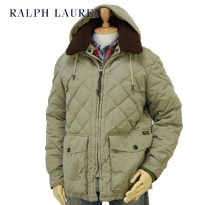 POLO by Ralph Lauren Men's Quilted Down Jacket Boa Parka US ポロ ラルフローレン メンズ フード付 ダウンジャケット