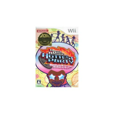 【中古】 Dance Dance Revolution HOTTEST PARTY /Wii 【中古】afb