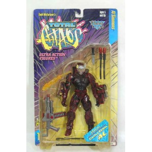 ULTRA-ACTION FIGURETOTAL GHAOS SERIES1サンディエゴコミコン限定 RED AL SIMMONS