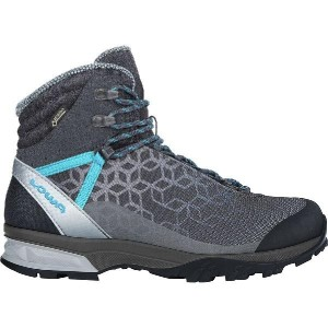 (取寄)ローバー レディース Lyxa GTX ミッド WS ブーツ Lowa Women Lyxa GTX Mid WS Boot Anthracite/Blue