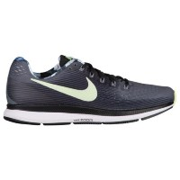 (取寄)Nike ナイキ メンズ エア ズーム ペガサス 34 Nike Men's Air Zoom Pegasus 34 Dark Grey Barely Volt Black White
