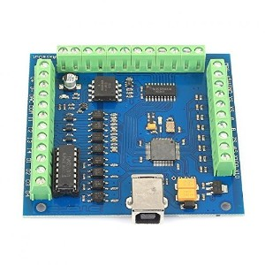 SainSmart 4 Axis Mach3 USB CNC Motion Controller Card Interface Breakout Board [並行輸入品]