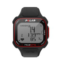 Polar RC3 GPS Bike with Heart Rate Monitor, Black by Polar