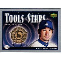 野茂英雄 2004 Upper Deck Tools Stars Bat Card Hideo Nomo
