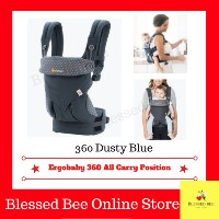 (Coupon Discount) Ergobaby - Four Position 360 Baby Carrier 【FACTORY DIRECT 】