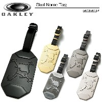 Oakely(オークリー) Skull Name Tag 99399JP スカル ネームタグ メーカー純正ネームプレート[新品]キャディバッグ ボストンバッグ