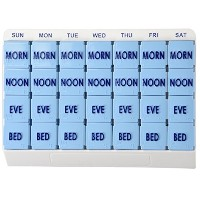 Large 7 Day Weekly Pill Organizer - Large 7 Day Weekly Pill Organizers - 70027PL70027PL by Apex