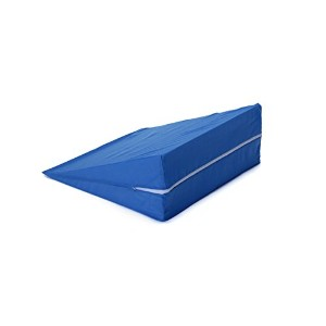 "Zippered Cover for Hermell Products 10 Wedge Cushion FW4080BL, Blue by ""Hermell Products, Inc."""