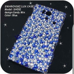 iPodtouch第2・3世代ケースカバー豪華スワロフスキーデコ電CANDYMIX-LUX-T3