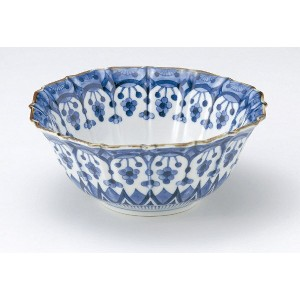 美濃焼 しだれ小花21cm大鉢【径21x高8.5cm】【Bowl,made in japan】【bloom-plus】