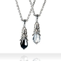 DUB Collection Tear Drop Necklace ティアドロップネックレス ペア SV925 シルバー DUBjt-5-6