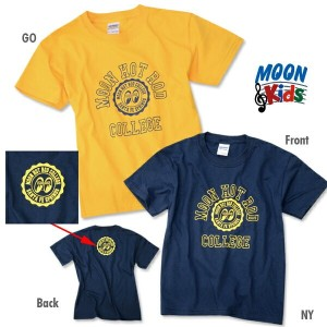 MOON Hot Rod College キッズ T シャツ