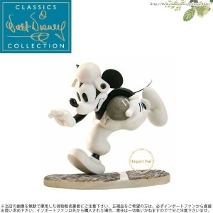 WDCC ミッキーのタッチダウン ラグビー Mickey Mouse Rah, Rah, Mickey Touchdown Mickey □
