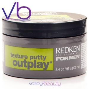 Redken for Men Outplay Texture Putty 3.4oz [並行輸入品]