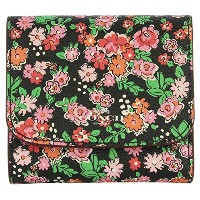 COACH コーチ アウトレット レディース Small Wallet In Posey Cluster Floral Print Coated Canvas F57642 スモール お財布 ...