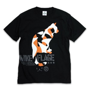 【SCOPY スコーピー】MIKE-FLAGE Tシャツ neco.tXS/S/M/L/XL
