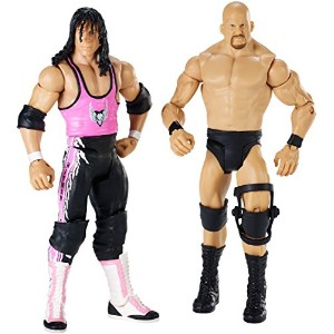 【送料無料】【WWE Wrestlemania 32 Steve Austin and Bret Figure 2-Pack】 b014ahlawa