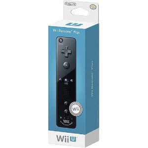【送料無料】【Wii Remote Plus - Black】 b00n4oaely