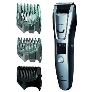 Panasonic ER-GB80-S Body and Beard Trimmer, Hair Clipper, Men's, Cordless/Corded Operation with 3...