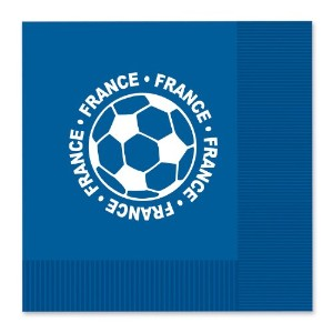 Beistle 58115-fra 16-pack Luncheon Napkins、フランス