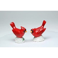 Cosmos Gifts 10476Cardinal Couple Salt and Pepper Set , 2–7/ 8インチ