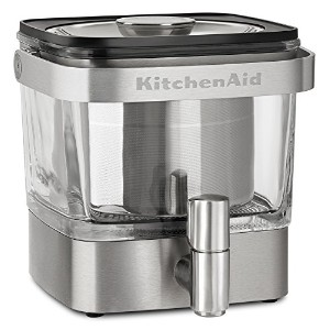 KitchenAid kcm4212sx Cold Brew Coffee Maker、つや消しステンレススチール
