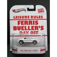 1/64 ホットウィール Hot Wheels Retro Entertaiment Ferris Bueller's Day Off '84 Pontiac Fiero フェリスはある朝突然に...