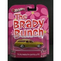 1/64 ホットウィール Hot WheelsRetro Entertaiment The Brady Bunch '71 Plymouth Satellite ゆかいなブラディー家 プリムス...