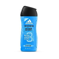 アディダス After Sport 3 In 1 Shower Gel, Shampoo & Face Wash 250ml [海外直送品]