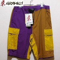 GRAMICCI CRAZY CARGO SHORTSMensグラミチクレイジーカーゴショーツBROWNxPURPLE