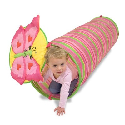 Melissa & Doug メリッサ&ダグ トンネル Bella Butterfly Tunnel