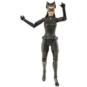 Batman The Dark Knight バットマン ダークナイト Rises Movie Masters Collector Catwoman Figure (Styles May Vary)