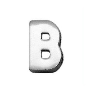 """3/8"""" (10mm) Chrome Plated Charms B 3/8"""" (10mm)"""