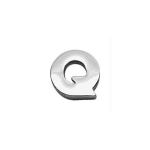 """3/8"""" (10mm) Chrome Plated Charms Q 3/8"""" (10mm)"""
