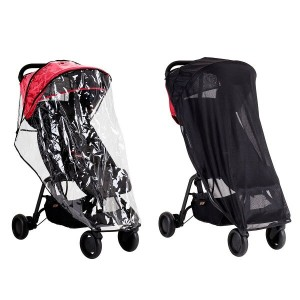 Mountain Buggy nano all weather covers setマウンテンバギー ナノ