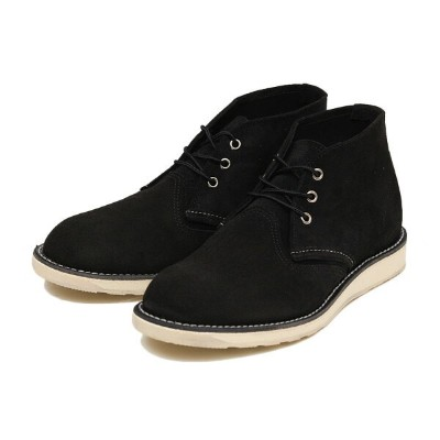 【RED WING】 レッドウィング CLASSIC CHUKKA クラシック チャッカ 3147 BLACK_SUEDE